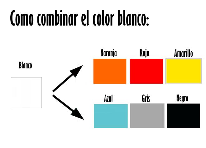 Como combinar el color blanco purificaci n ramos for Colores que pegan con el gris