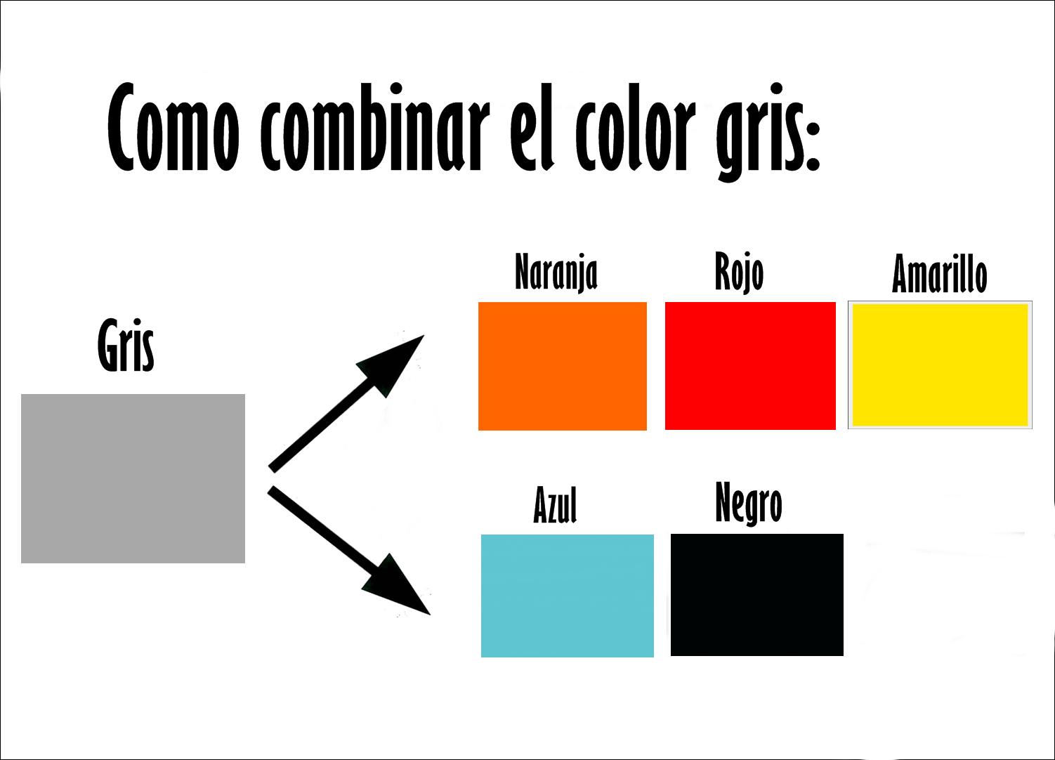 Combinar colores gris purificaci n ramos for Colores que combinan con gris claro